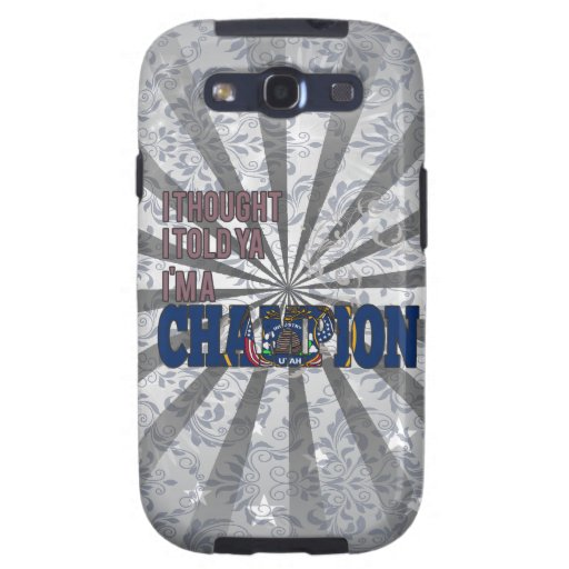 Utahan and a Champion Galaxy SIII Cases