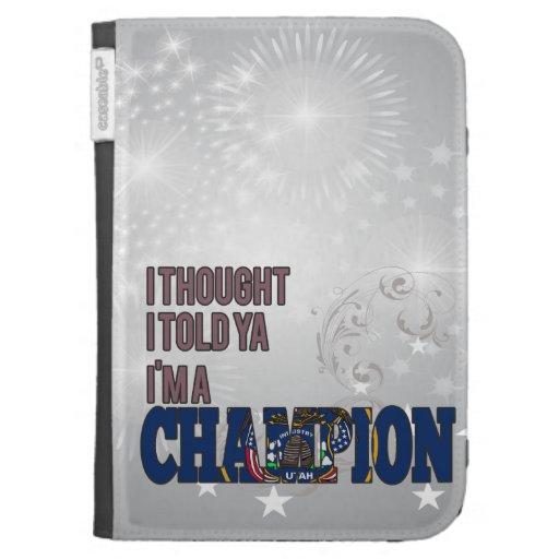 Utahan and a Champion Kindle Folio Case