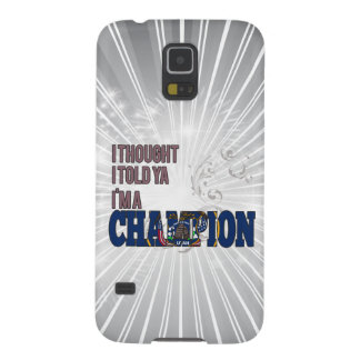 Utahan and a Champion Galaxy S5 Cases