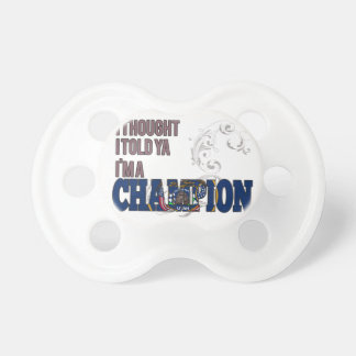 Utahan and a Champion Pacifiers