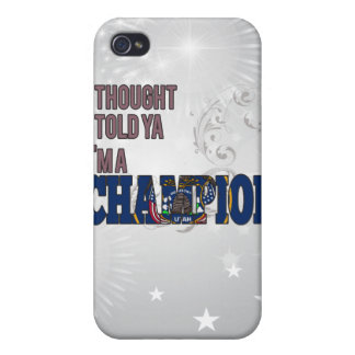 Utahan and a Champion iPhone 4/4S Covers