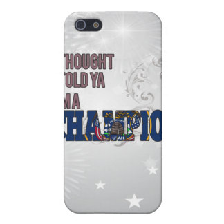 Utahan and a Champion iPhone 5 Cases