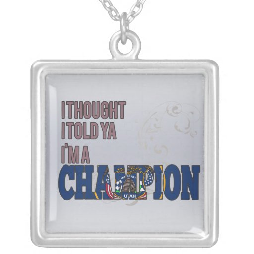 Utahan and a Champion Custom Jewelry