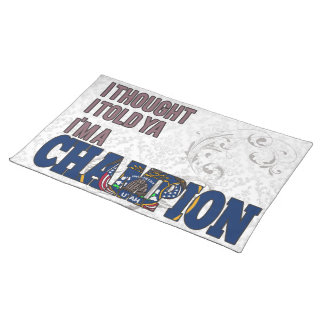 Utahan and a Champion Placemat