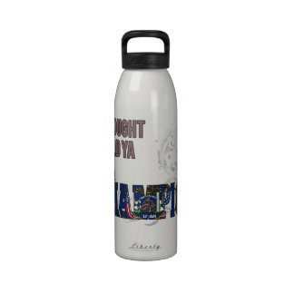 Utahan and a Champion Reusable Water Bottles