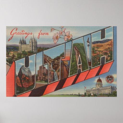 UtahLarge Letter ScenesUtah Poster