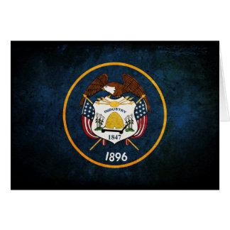 Utahn Flag; Note Card