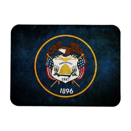 Utahn Flag; Flexible Magnets