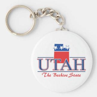 UtahPatriotic Keychain