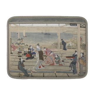 """Utamaro's Japanese Art 13"""" MacBook sleeve"""