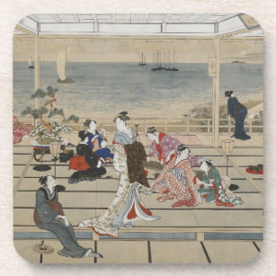 Utamaro's Japanese Art coasters