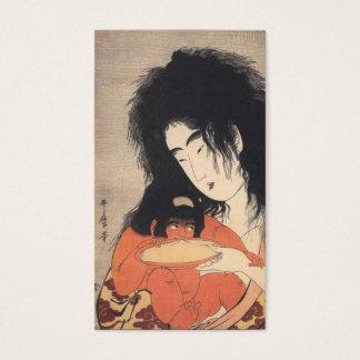 Utamaro's Japanese Art custom business cards