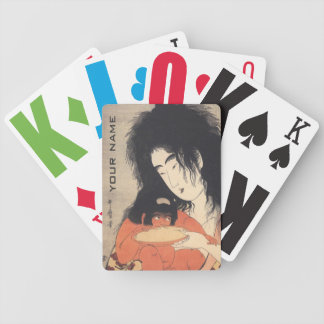 Utamaro's Japanese Art custom playing cards