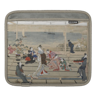 Utamaro's Japanese Art iPad sleeve