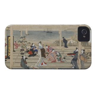 Utamaro's Japanese Art iPhone case