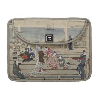 Utamaro's Japanese Art MacBook sleeves