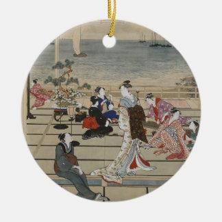 Utamaro's Japanese Art ornament
