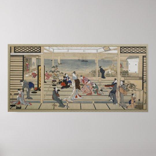 Utamaro's Japanese Art poster
