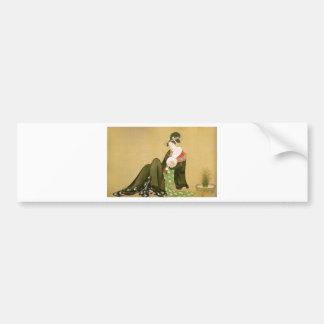 Utamaro - UKIYOE- Bumper Stickers
