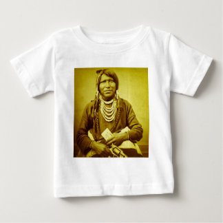 Ute Indian with Pistol Vintage Tshirts