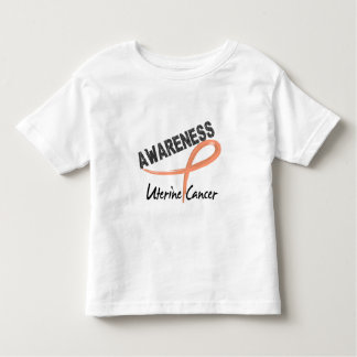 Uterine Cancer Awareness 3 Tee Shirt