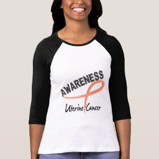 Uterine Cancer Awareness 3 Tshirts