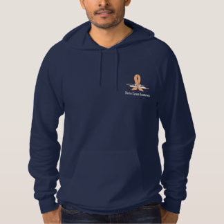 Uterine Cancer Awareness Swans Hoodie