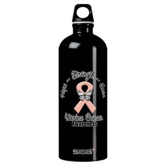 Uterine Cancer Hope Strength Love SIGG Traveler 1.0L Water Bottle