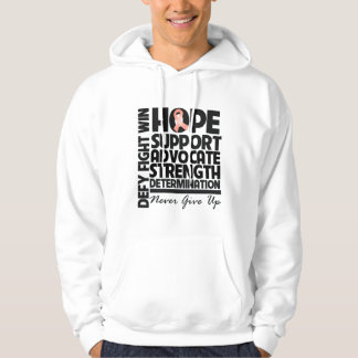 Uterine Cancer Hope Support Advocate Hoody