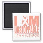 Uterine Cancer I Am Unstoppable Magnet