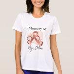 Uterine Cancer In Memory of My Hero T-shirt