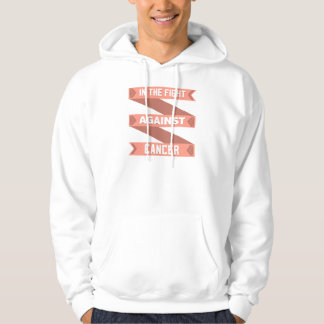 Uterine Cancer In The Fight Against Cancer Hoodies