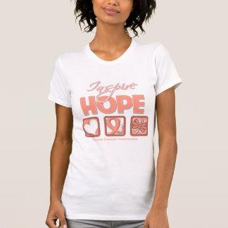 Uterine Cancer Inspire Hope T Shirts