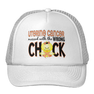Uterine Cancer Messed With The Wrong Chick Mesh Hats