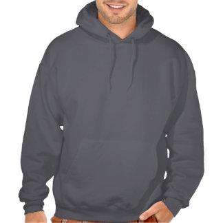 Uterine Cancer Peach Ribbon 3 Hooded Sweatshirt