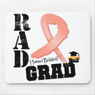 Uterine Cancer Radiation Therapy RAD Grad Mouse Pad