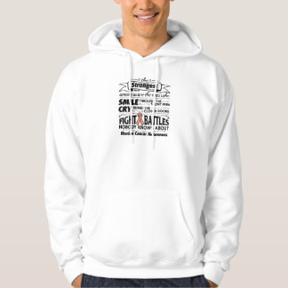 Uterine Cancer Strongest Among Us Hoodie