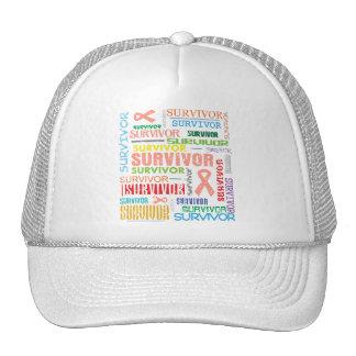 Uterine Cancer Survivor Collage.png Trucker Hats
