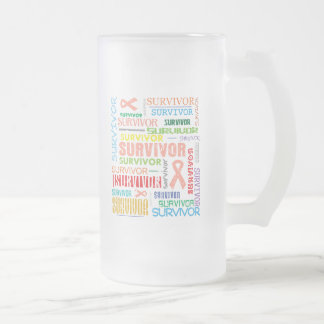 Uterine Cancer Survivor Collage.png Coffee Mugs