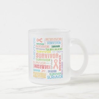 Uterine Cancer Survivor Collage.png Coffee Mug