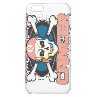 Uterine Cancer Tougher Than Cancer Skull iPhone 5C Cover
