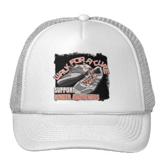 Uterine Cancer Walk For A Cure Shoes Mesh Hats