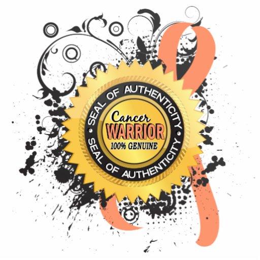 Uterine Cancer Warrior 23 Acrylic Cut Outs
