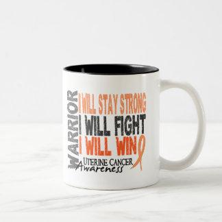 Uterine Cancer Warrior Coffee Mugs