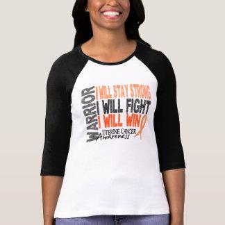 Uterine Cancer Warrior T Shirts