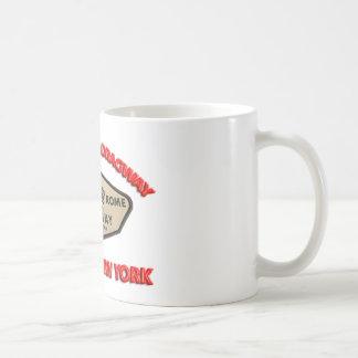 Utica Rome Dragway Basic White Mug