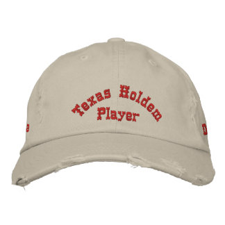 Utimate Poker Player Hat Embroidered Cap