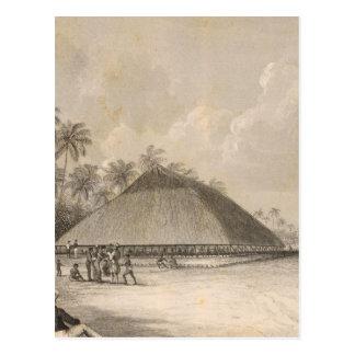 Utiroa, Kiribati Postcard
