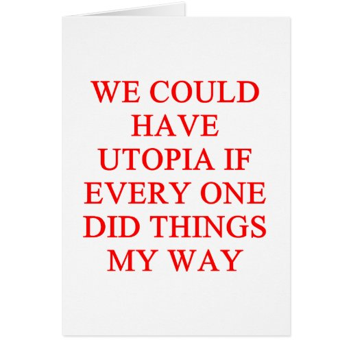 UTOPIA my way Card