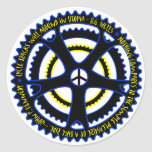 Utopian society will have bicycles sticker